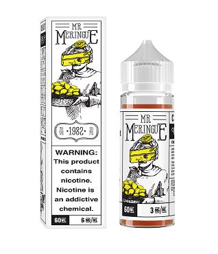 Charlies Mr. Meringue Pie 60ml: lemon fresh fluffy cloud of meringue