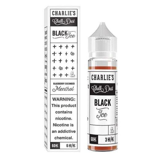Black Ice 60ml : Blackberry Cucumber Menthol