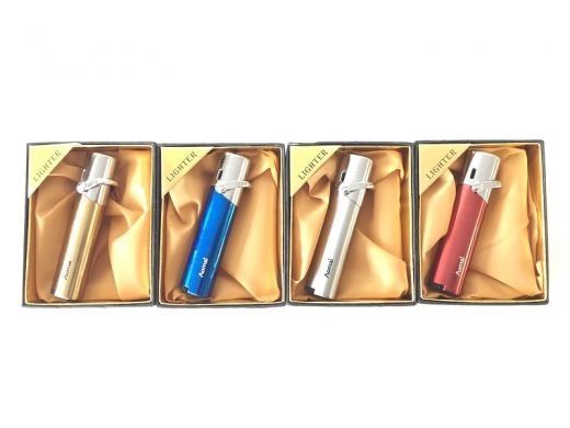 Colored Slim Blue Flame Lighter