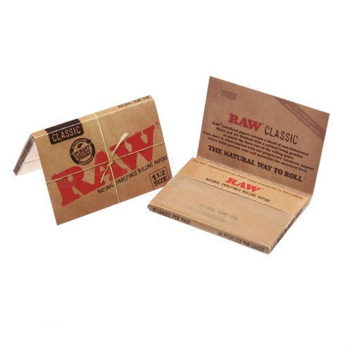 Raw Papers 1/2-33 Leaves